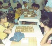 小学校5年生将棋祭りの子ども大会にて