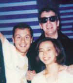 通訳をしていた27才のころ。 「Pet Shop Boys」のメンバーと