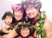2年半前、家族でハワイにて
