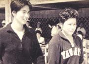 中学2年。岡山国体 あこがれの田中聡子さんと