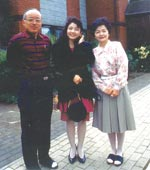 イギリスに住んでいた家族と 1990年