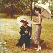 16歳、Mailhan(南仏)にて (右がマニグリエ真矢さん)