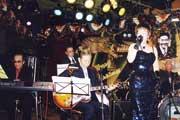 歌手活動再開当時。ライブハウスにて
