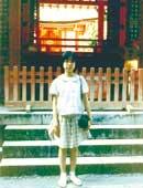 小学4年生のころ 九州に旅行したとき太宰府天満宮で