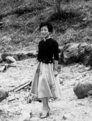 1956年三菱重工業就業時代。横浜にて