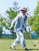 現在趣味のゴルフ