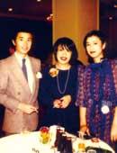 マネジャー時代。 松井さんの事務所所属の荻島眞一さん高橋惠子さんと