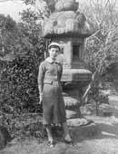 1956年、美大生時代。京都の自宅にて
