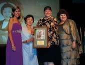 プエルトリコで行われた、2011年世界化学年女性化学賞授賞式に出席。世界の23人に日本でただ1人、選ばれた