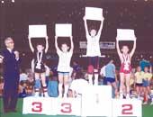 1991年7月、小学校3年生で出場した全国少年少女レスリング選手権大会(東京体育館)で優勝