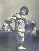 初めての着物姿(昭和12年)