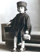 5歳のころ、パパとママのアイドル(昭和12年)