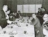 1962年ごろ。台北で岸信介元首相の通訳
