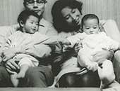 1966年ごろ。家族写真