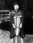 昭和15年、一座を組み地方巡業を始めたころ