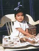4歳ぐらいのころ