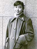 中学生のとき、日本橋の高島屋の前で