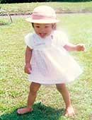 翔子さんが2歳のころ