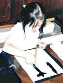 翔子さんが書道を始めたころ