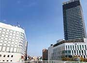 大型開発が進む熊本駅周辺