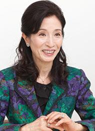松原 智恵子さん/女優