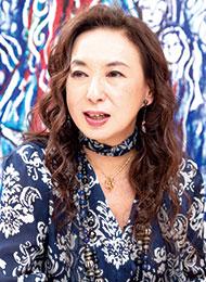 蜷川 有紀さん/画家・女優