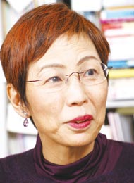 上野 千鶴子さん/東京大学大学院教授