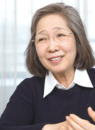 金澤 泰子さん/金澤翔子の母・書家