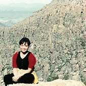30歳のころ。アメリカのアリゾナにて