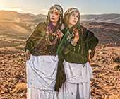 『Bright of Desert』2018年撮影。モロッコのベルベル人女性