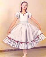 1976年、初舞台『くるみ割り人形』
