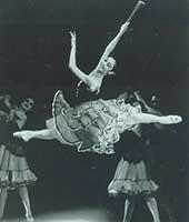 1992年、モスクワのスタニスラフスキー&ネミロビッチ・ダンチェンコ劇場にて