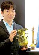 河西 大地さん/琉球ガラス史研究家